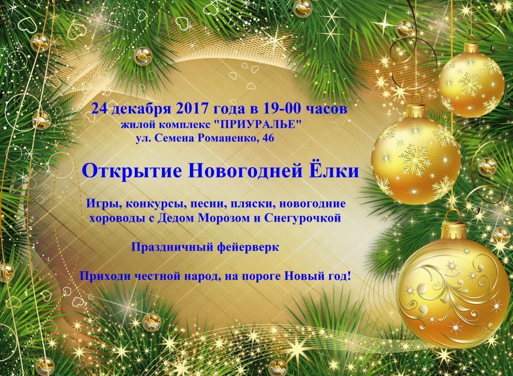 Открытие Новогодней Ёлки. Фото 1